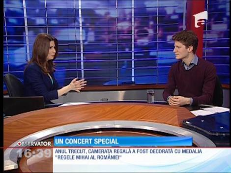 Concert special la Ateneul Român