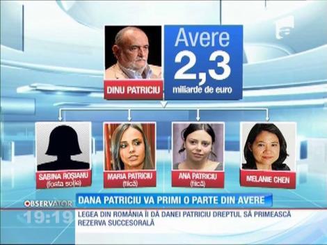 Dana Patriciu va primi o parte din avere