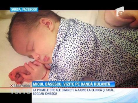 Micul Băsescu, vizite pe bandă rulantă