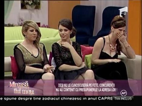 Reacţiile concurenţilor când le-au văzut pe fete! Au fost ostili sau au încercat să destindă atmosfera!?