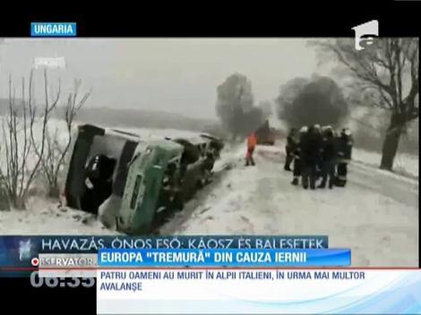 În multe state din Europa meteorologii au emis avertizări de vreme severă