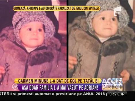 Carmen Minune l-a dat de gol pe tatăl ei