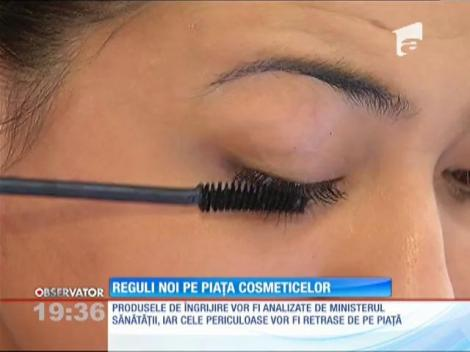 Reguli noi pe piața cosmeticelor