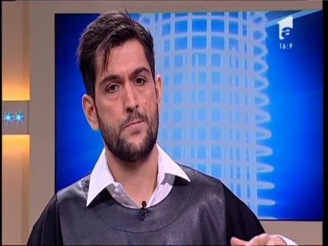 Culise: Cezar Ouatu se pregăteşte să devină Dan Spătaru