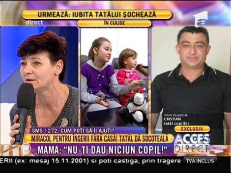 Răsturnare incredinilă de situaţie! Tatăl acuzat că şi-a dat afară din casă copiii iese la atac!