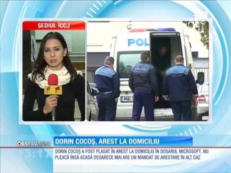 Dorin Cocoş, arestat la domiciliu