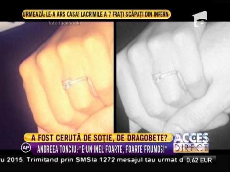 Andreea Tonciu, cerută de soție de Dragobete!?