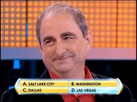Rândul 4: Ce oraş american este cunoscut şi sub numele de Sin City?