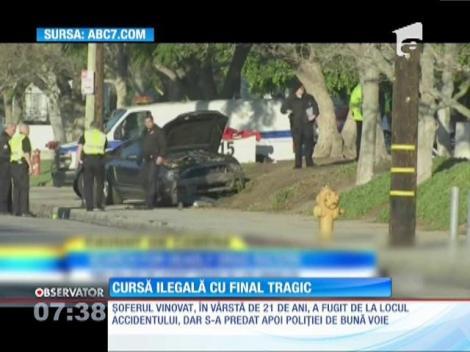 Cursă ilegală de maşini cu final tragic