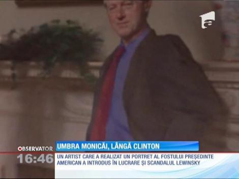 Umbra Monicăi Lewinsky, lângă Bill Clinton