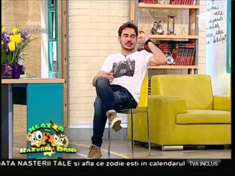 Răzvan și Dani îl așteaptă pe Robbie Williams la ei acasă