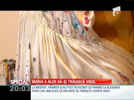 Maria Dermengiu a ales să-şi trăiască visul