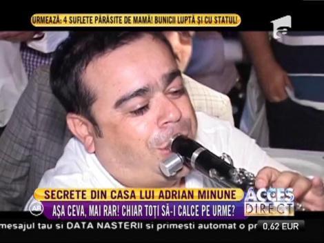 Talente muzicale fără număr în casa lui Adi Minune!! Adrian Junior îi calcă pe urme tatălui