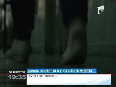 UPDATE! Bunică din Braşov, care a dispărut din spital, găsită moartă!