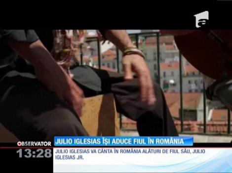 Julio Iglesias îşi aduce fiul în România