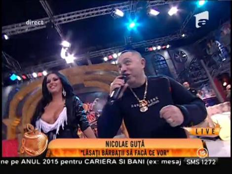 """Nicolae Guță cântă îmbrăcat în costum de scafandru! Ascultă aici melodia """"Lăsați bărbații să facă ce vor"""""""