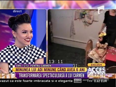 Imagini fabuloase! Cum era fiica lui Adi Minune la grădiniţă!