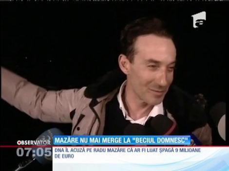 """Radu Mazăre n-a mai dormit în """"Beciul Domnesc"""""""
