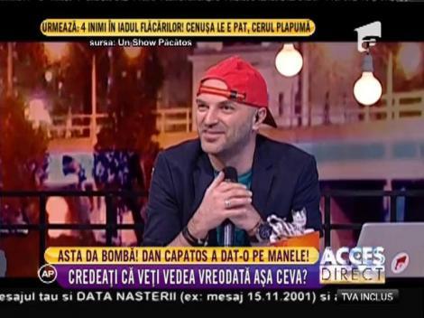 """Dan Capatos, """"şmecherie fără număr"""", alături de Nicolae Guţă! Show aşa cum nu ai mai văzut niciodată"""
