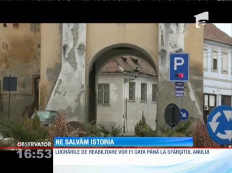 Cetatea medievală din Mediaş va renaște din bani europeni