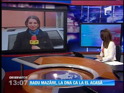 Radu Mazăre, la DNA ca la el acasă