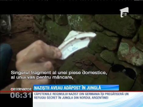 Naziștii aveau adăpost secret în jungla din nordul Argentinei