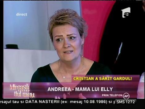 Andreea, mama lui Elly, revoltată de atitudinea lui Marian! Ce i-a spus concurentului