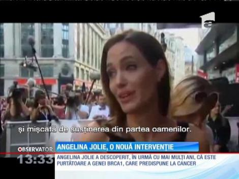 Angelina Jolie şi-a extirpat ovarele şi trompele uterine