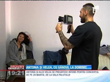 Alex Velea și Antonia, tot timpul cu gândul la Dominic