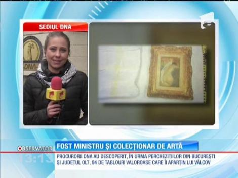 Fost ministru şi colecţionar de artă
