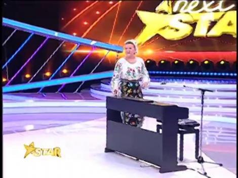 Surpriză de neuitat: Maria Cârneci cântă la pian pentru juriul Next Star