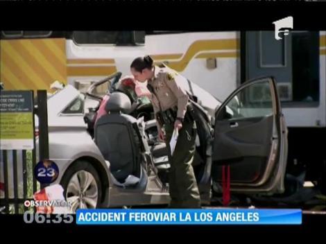 Accident feroviar în Los Angeles