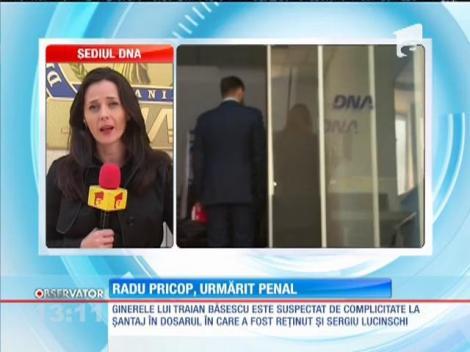 Radu Pricop, ginerele lui Băsescu, urmărit penal pentru complicitate la şantaj