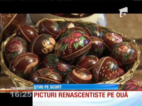 Picturi renascentiste pe ouă