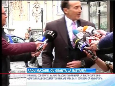 Radu Mazăre, cu geanta la instanţă