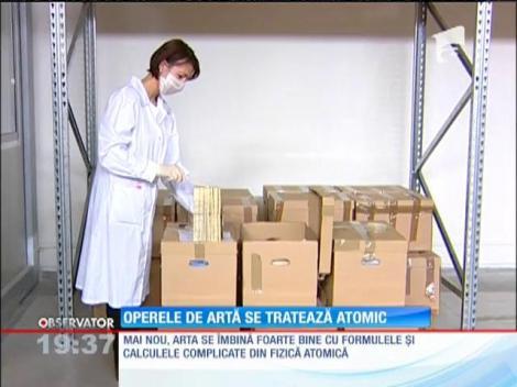 Arta românească se tratează atomic