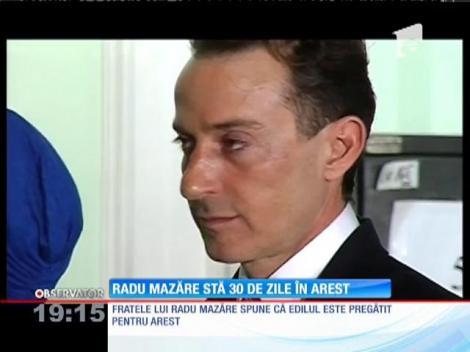 Radu Mazăre, arestat pentru 30 de zile