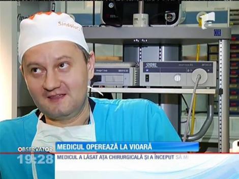 Un chirurg de la spitalul Militar, violonist în Orchestra mondială