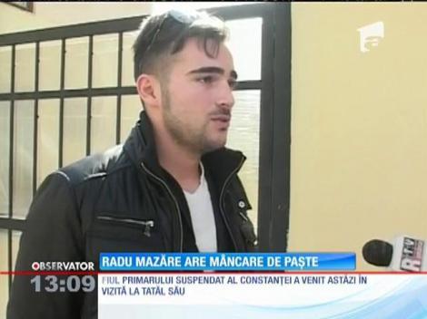 Radu Mazăre, vizitat după gratii de fiul său