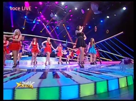 "Pitbull - ""Fireball"". Vezi interpretarea Danielei Negoiţă feat. Raluka, la Next Star!"