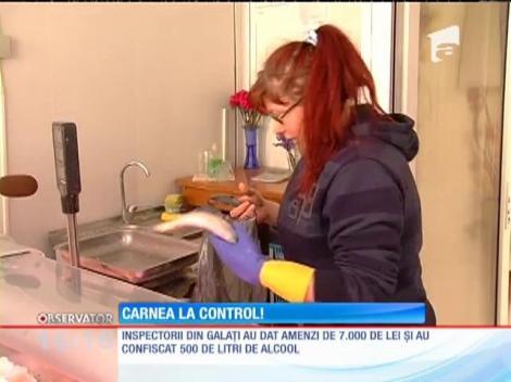 Inspectorii sanitar veterinari au făcut controale la sânge