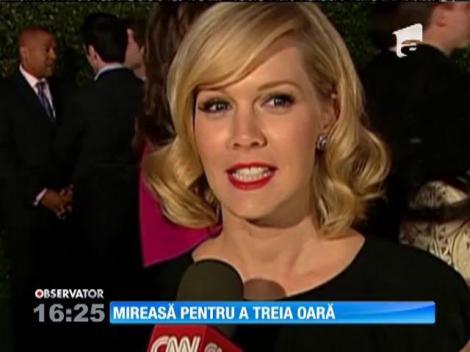 Jennie Garth, Kelly din serialul Beverly Hills, s-a logodit