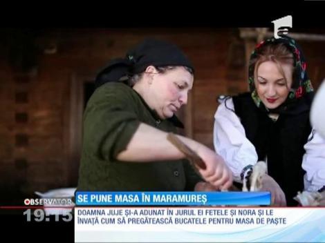 Locuitorii satelor din Maramureș respectă tradițiile de sute de ani