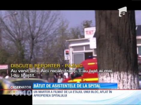 Prietenii unei paciente s-au luat la bătaie cu asistentele spitalului din Ploieşti