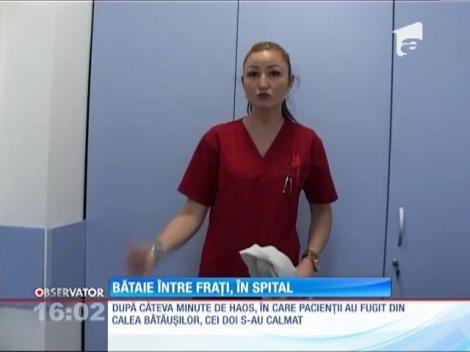 Doi fraţi din Baia Mare s-au luat la bătaie în spitalul din Baia Mare