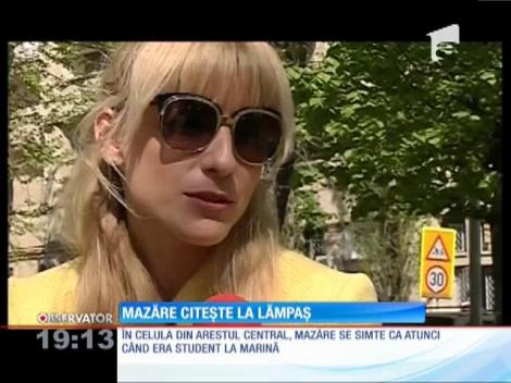 Radu Mazăre citește la lămpaș