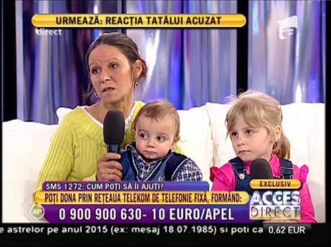 """Ionica, mama celor șase suflete: """"Trăim din alocația copiilor"""""""