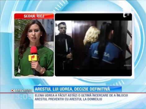 Arestul lui Udrea, decizie definitivă