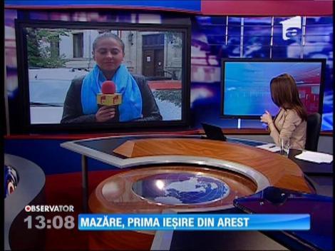 Radu Mazăre iese pentru prima dată din închisoare