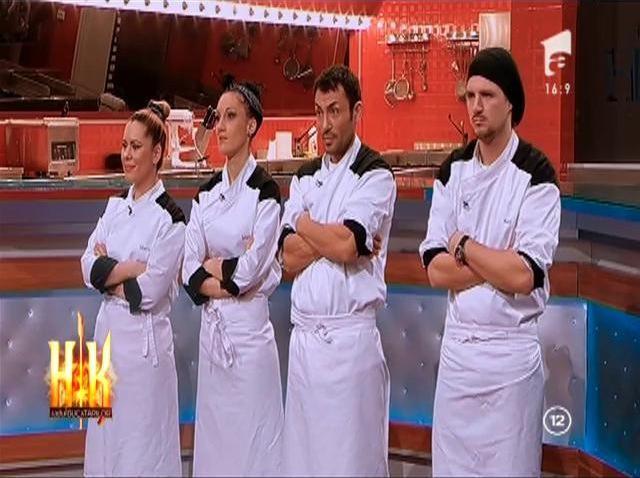 Micii bucătari dau lecții celor mari! Uite cine câștigă proba de data aceasta!